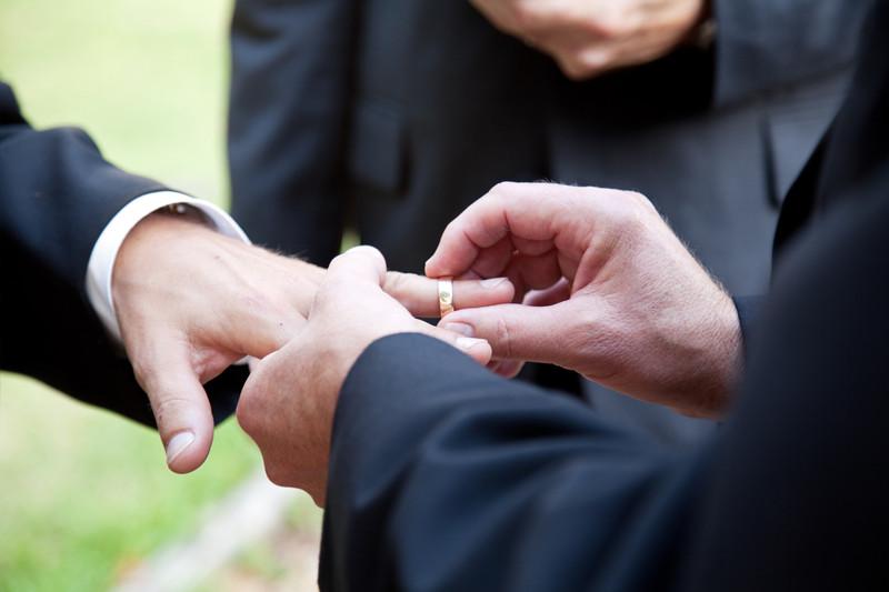 bague de mariage gay