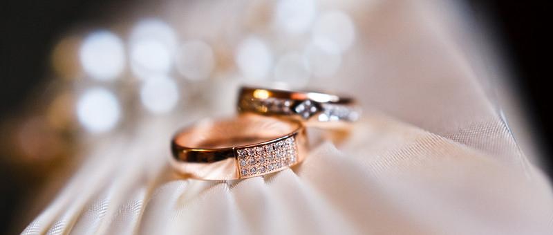 Les alliances de mariage originales