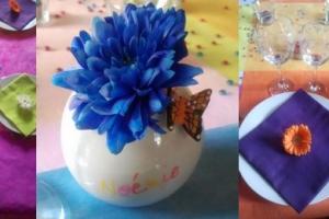 theme decoration fete des meres fleuri et colore