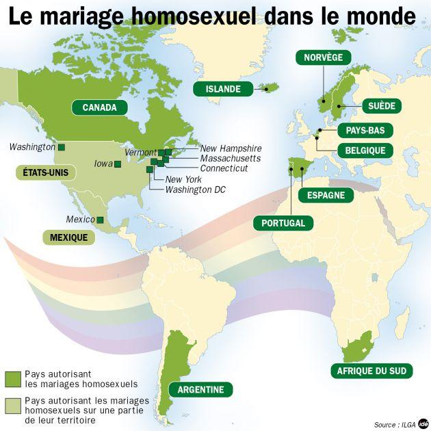 les pays qui autorisent le mariage gay mon mariage gay et lesbien. Black Bedroom Furniture Sets. Home Design Ideas