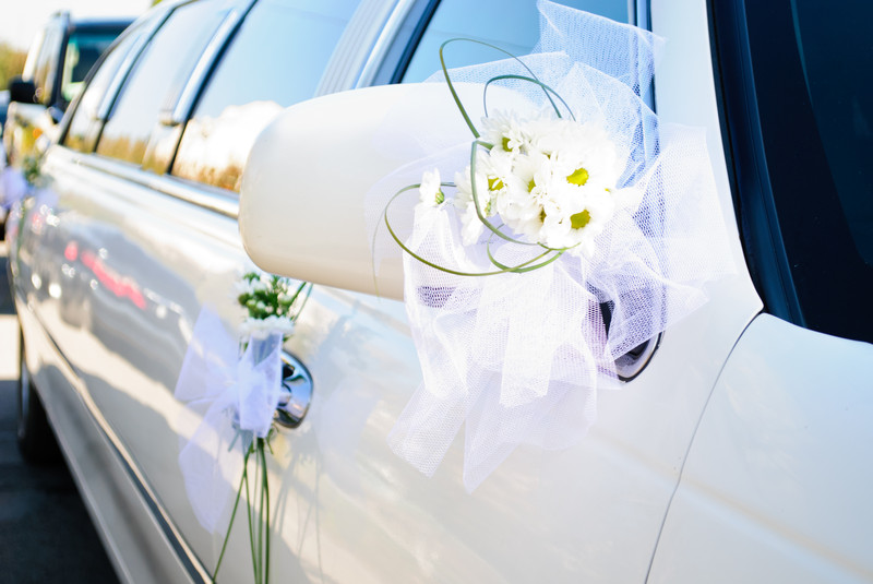 decoration voiture mariage gay